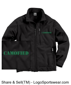 Weatherproof Soft Shell Jacket Design Zoom
