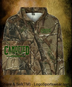 Realtree Hooded Full-Zip Sweatshirt by Code V Design Zoom